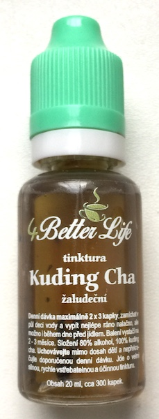 Tinktura Kuding Cha Super shot, 20ml